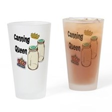 Canning Queen Drinking Glass