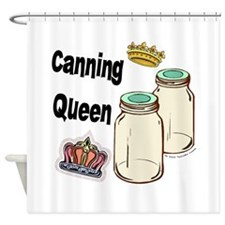 Canning Queen Shower Curtain