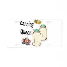 Canning Queen Aluminum License Plate