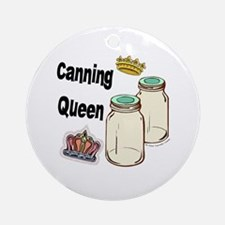 Canning Queen Ornament (Round)