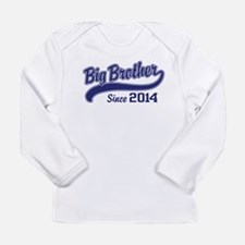 Big Brother Since 2014 Long Sleeve Infant T-Shirt