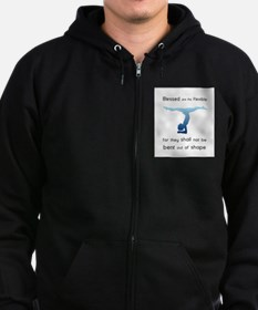 Blessed are the Flexible 2 Zip Hoodie
