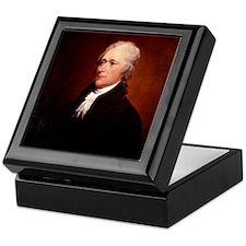 Alexander Hamilton Keepsake Box