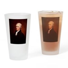 Alexander Hamilton Pint Glass
