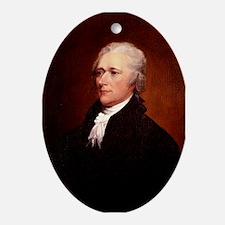 Alexander Hamilton Ornament (Oval)