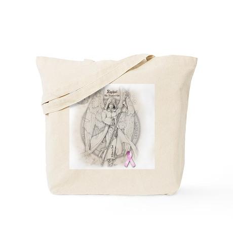 Raphael Breast Cancer Tote Bag