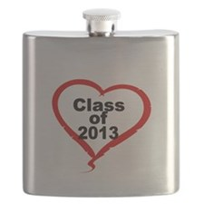 Class of 2013 with Heart Flask