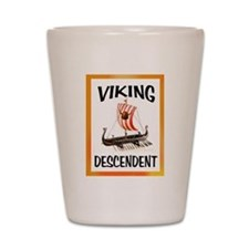 VIKING SHIP Shot Glass
