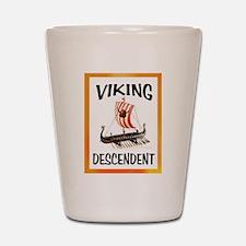 VIKING SHIP Shot Glass