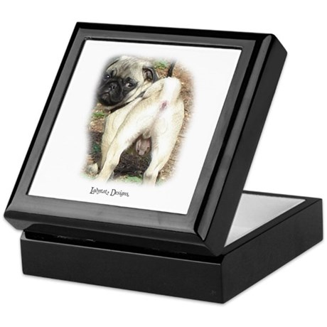Pug Perfect Keepsake Box