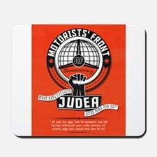 Motorists' Front of Judea solid red Mousepad