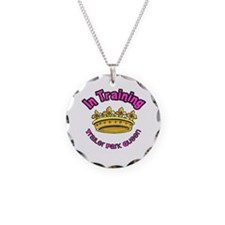 Trailer Park Queen In Training Necklace