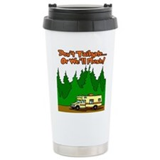 Don't Tailgate Or We'll Flush Travel Mug