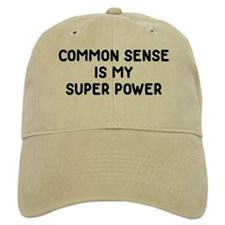 Common Sense Baseball Cap