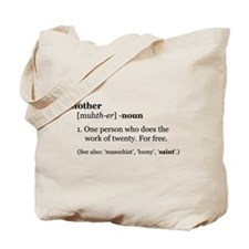 Mother Defined Tote Bag