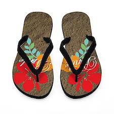 Island Bride Flip Flops