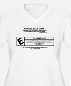 Jesus Coming Back Soon Plus Size T-Shirt
