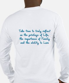 Adult Family Day Festival Long Sleeve T-Shirt