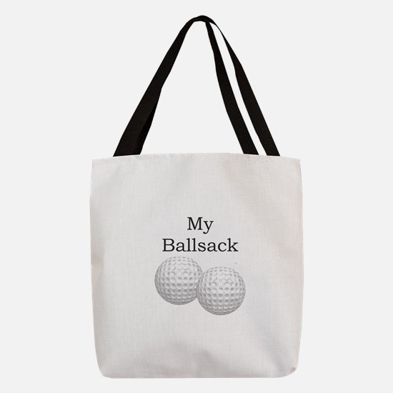 Golf Ball Sack - Gifts for Golf Polyester Tote Bag