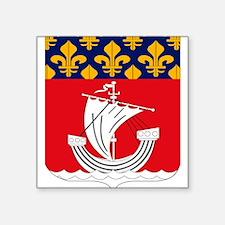 Paris Coat of Arms Rectangle Sticker