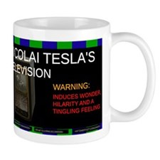 Nicolai Tesla's television Mug