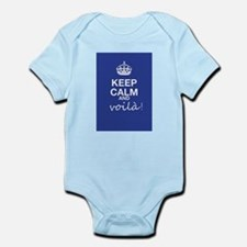 Keep Calm And Voila! Body Suit