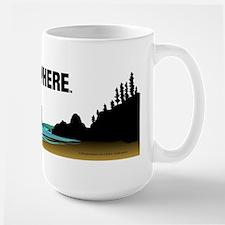 Surf Everywhere Large Mug