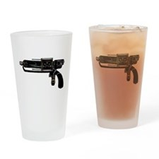 Tesla Ray Gun Drinking Glass