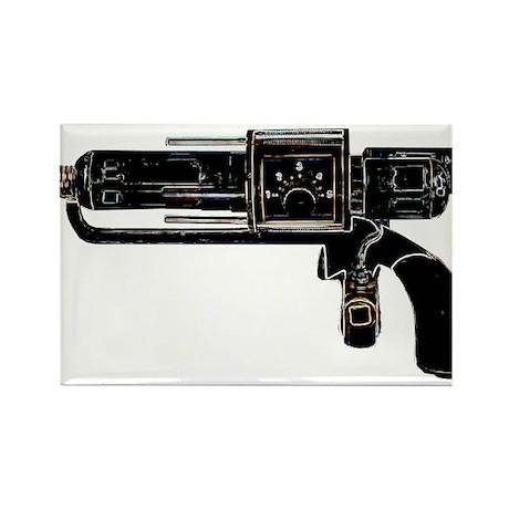 Tesla Ray Gun Rectangle Magnet