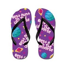 Best Aunt in the Universe Flip Flops