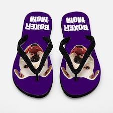 Boxer Mom dog Flip Flops