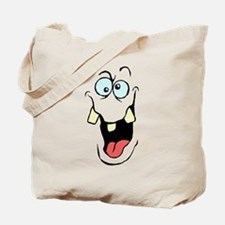 CrazyFace Tote Bag