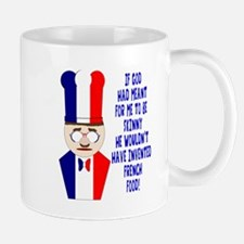 Dark Blue French Chef Mug