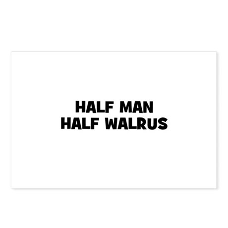 Half Man~Half Walrus Postcards (Package of 8)