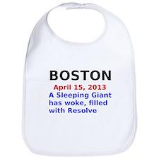 Boston April 15, 2013 Sleeping Giant Bib