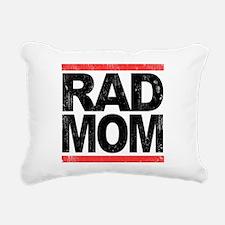 Rad Mom Rectangular Canvas Pillow
