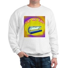 Fake and Bake Tanning Sweatshirt