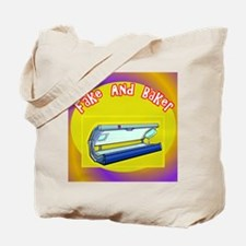 Fake and Bake Tanning Tote Bag