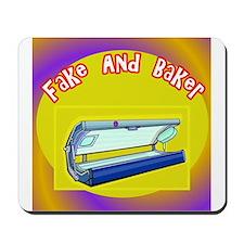 Fake and Bake Tanning Mousepad