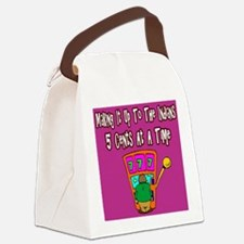 Making It Up To The Indians Canvas Lunch Bag
