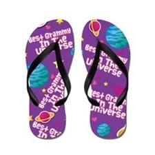 Best Grammy in the Universe Flip Flops