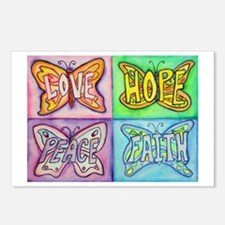 Inspirational Butterfly Word Wings Postcards (Pack