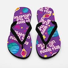 Best Nonna in the Universe Flip Flops