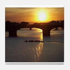 Florence Italy Sunset Tile Coaster