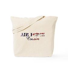 AF Cousin American Flag Tote Bag