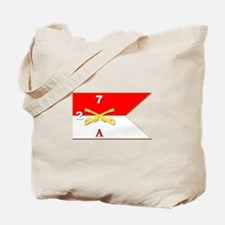 Guidon - A-2/7CAV Tote Bag