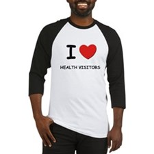 I love health visitors Baseball Jersey