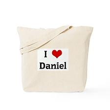 I Love Daniel Tote Bag