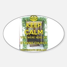 St Ann's Church Portsmouth England Decal