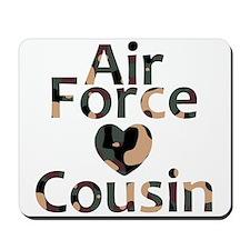 AF Cousin Camo Heart Mousepad